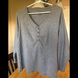 Cute Faded Glory ladies top size 3X